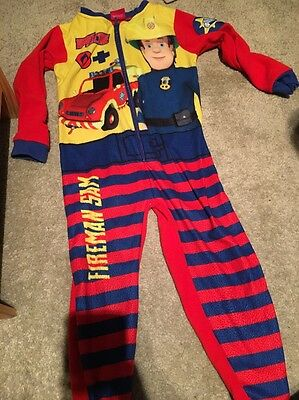 Fireman Sam all In One Size 4
