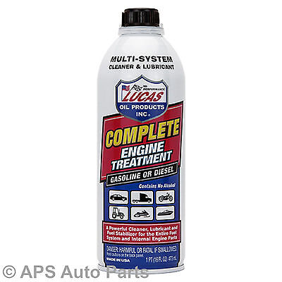 Lucas Complete Engine Treatment Gasoline Diesel Multi System Cleaner Lubricant