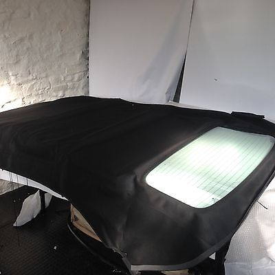 Audi A3 Convertible Hood With Glass Rear Window Power Hood Black Mohair New