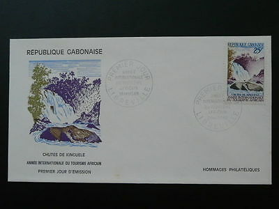 waterfall FDC Gabon 50209