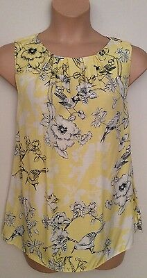 """Ladies Pretty Open Back Floral and Bird Print  Top """""""""""" NEW """""""""""" Plus Size  20"""