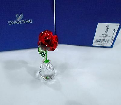 Swarovski Flower Dreams - Red Rose, Crystal Authentic MIB 5254323
