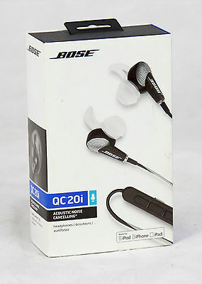 Bose QuietComfort 20i Acoustic Noise Cancelling Headphones – Stereo