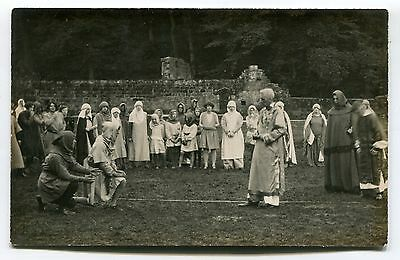 Dover Court, Dovercourt? -  August 1927 - historical reanactment - old postcard