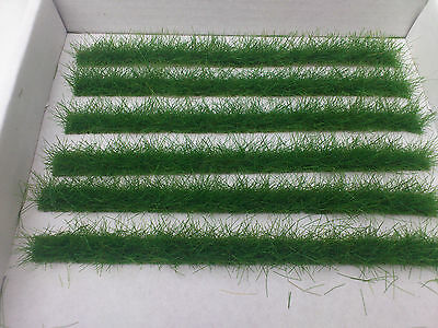 Dark Green Grass Strips for model railway dioramas ,wargaming etc