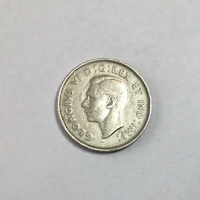 CANADA 1938 5 Cent coin nice condition