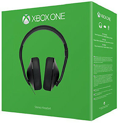 Microsoft Xbox One Stereo Headset With Headset Adapter & Boom Microphone