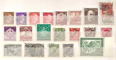 ALLEMAGNE. Lot timbres