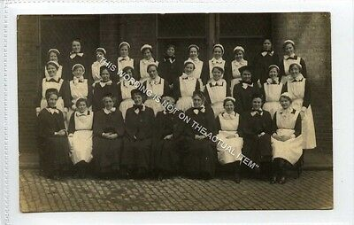 (Ld4204-223) RP, Unknown Group of Nurses, c1920  Used VG,
