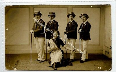 (Ld4206-223) RP, Unknown Young Entertainment Group, 1914  Used G,