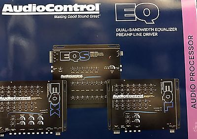 NEW Audio Control EQS, 6 Channel Trunk Mount 13-Band Graphic Equalizer (BLACK)