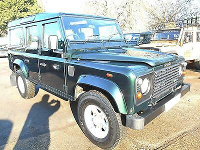 Land Rover Defender 110 TD5 County Station Wagon DIESEL MANUAL 2000/W