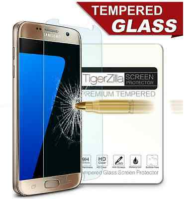 Samsung Galaxy S7 Premium Tempered Glass Screen Protector Real Glass Protection