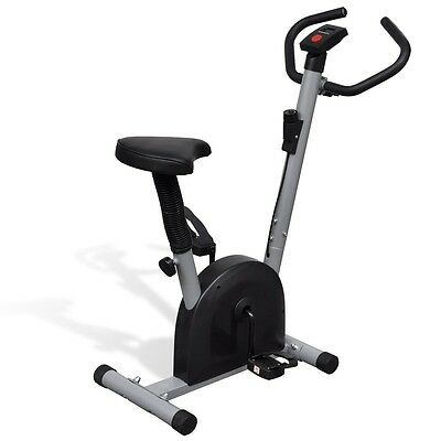 Exercise Bike Trainer Cycle Workout Machine Home Fitness Aerobic Cardio Indoor