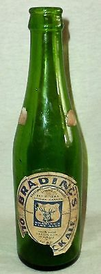 Brading's Old Stock Ale Bottle Green Bradings Brewery Ottawa Canada
