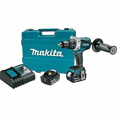 "NEW 18-volt Lxt Brushless Lithium-ion 1/2"" Cordless Driver Drill Kit"