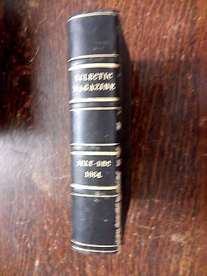 1864 Eclectic Mgazine - Bound - Engraving of 1862 New Orleans Naval Battle