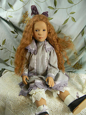 Sonya hartman Doll -human hair, beautiful outfit very limited! #19/30 & signed!