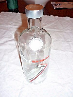 Absolut New Orleans Bottle 750ml 2007 Post Hurricane Katrina Excellent Condition