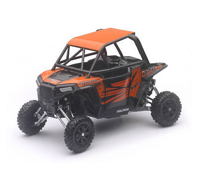 57823 Polaris RZR XP1000 Side by Side Orange Off Road Vehicle Toy Model 1:18