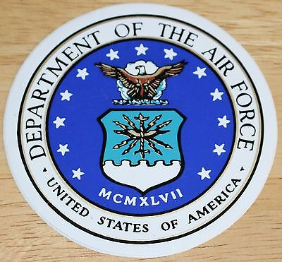 Old USAF US Air Force Department of the Air Force Sticker