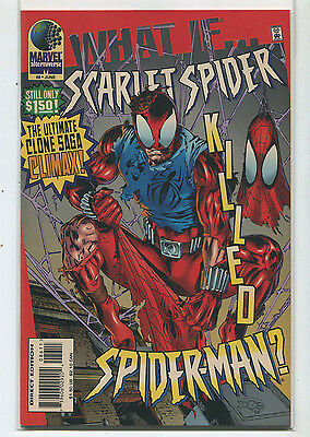 What If #86 NM  Scarlet Spider Killed Spider-Man   Marvel CBX1F