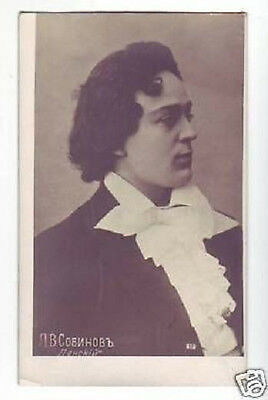 SOBINOV Russian OPERA Singer TENOR Vintage PHOTO PC aw