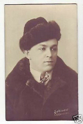 SOBINOV Russian OPERA Singer TENOR Vintage PHOTO PC aq
