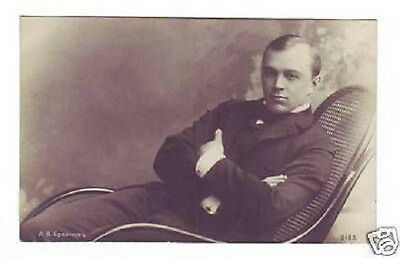 SOBINOV Russian OPERA Singer TENOR Vintage PHOTO PC uu