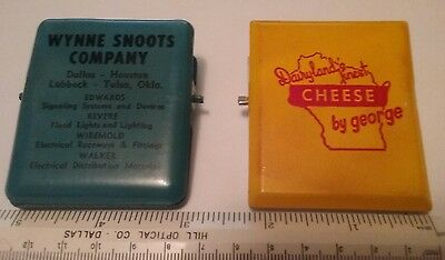 2 Vintage Advertising Paper Clips Great Condition Very Nice Old