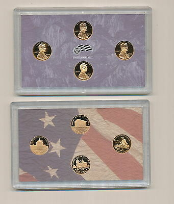 2009  Lincoln  Bicentennial  Cents  Mint   Proof   Set     Four  Coins