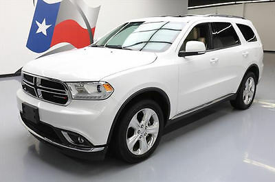 2014 Dodge Durango  2014 DODGE DURANGO LTD AWD SUNROOF NAV DVD 20'S 37K MI #383170 Texas Direct Auto