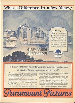 1925 Paramount Pictures-Movie/Film Theater/Theatre-What a Difference 1920s Ad