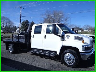 2006 Chevrolet C5500 4 DOOR FLAT BED WITH A 5TH WHEEL HITCH