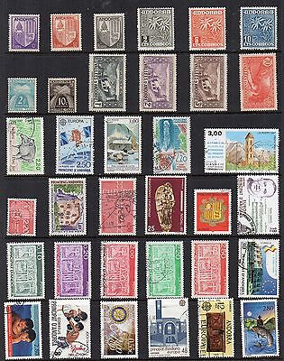 ANDORRE  STAMP COLLECTION Mint Used REF:QE224