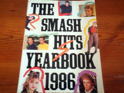 The Smash Hits Year Book 1986, George Michael, Wham, Madonna, Bowie, 128 pages