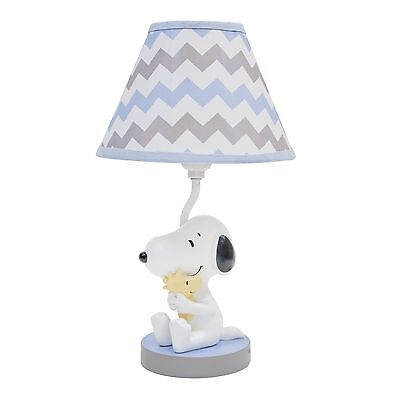 Lambs & Ivy My Little Snoopy Lamp with Shade and Bulb Brand New!