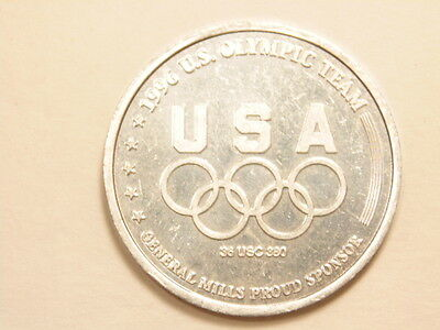 1996 Atlanta Olympic coin – General Mills Corp promotional item