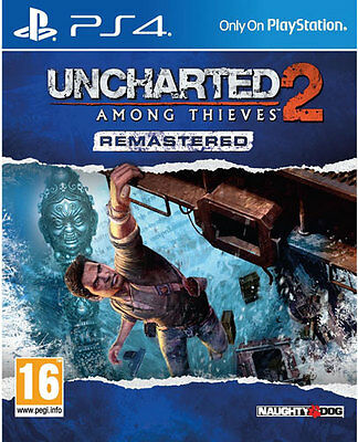 PS4 Spiel Uncharted 2 Among Thieves HD Remastered  NEUWARE
