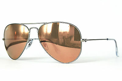 Ray Ban Sonnenbrille / Sunglasses RB3025 AVIATOR LARGE METAL 019/Z2 58[]14 Etui