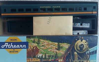 Athearn ho gauge 1816 sl coach northern pacific car number 3150