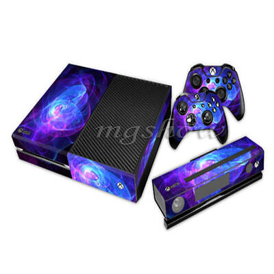NY Game Skin Sticker Cover For Xbox ONE Console + Free Controllers Vinyl Decal
