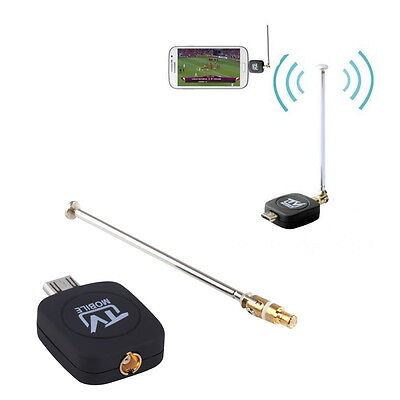 DVB-T Micro USB Tuner Mobile TV Receiver Stick For Android Tablet Pad Phone PRT