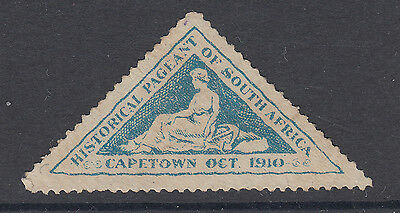 Historical Pageant - Cape Town - 1910 - Blue) - (10) - South Africa - Cinderella