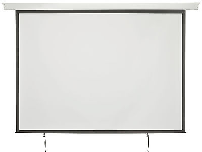 "100"" 4:3 Electric Motorised Projector Screen Hd Home Cimema Projection 952.322"