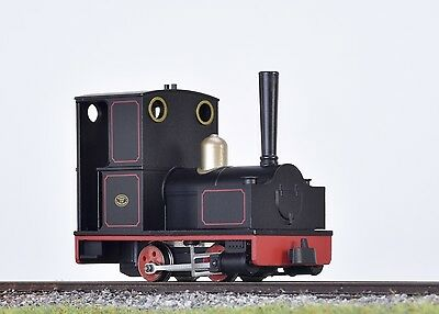Minitrains 2011 - Bagnall Wingtank 0-4-0 Black - New (009/HOe Narrow Gauge)
