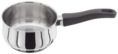 Judge Vista Cookware Stainless Steel 14cm 0.9lt Milk Pan Saucepan with Handle