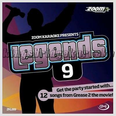 Zoom Karaoke Legends CDG/CD+G Vol 9 - Hits From Grease 2 Movie Soundtrack