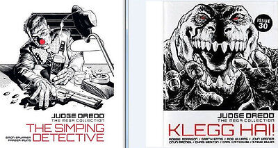 JUDGE DREDD Mega collection # 20 & 30 Simping Detective + Klegg Hai