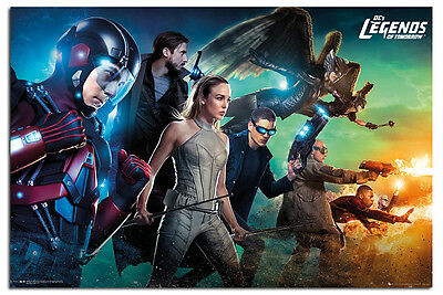 Legends Of Tomorrow Team Poster New - Maxi Size 36 x 24 Inch